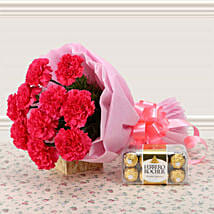 Supernova Pink: Send Flowers & Chocolates to Faridabad