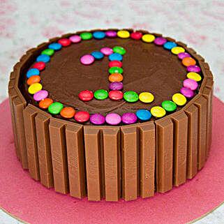 Supreme Kit Kat Cake: Cake Delivery in Ponnani
