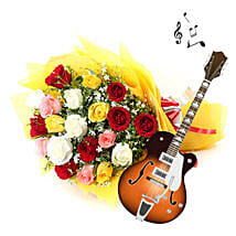 Sweet Music and Roses to Amaze: Send Thanks Giving Day Flowers