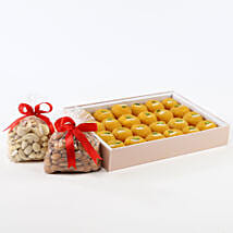 Sweet N Crunch Hamper: Diwali Sweets to Pune