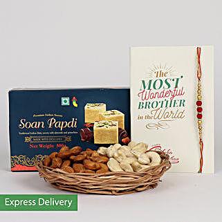 Sweet Rakhi Treat: Rakhi Express Delivery