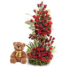 Sweet Surprise: Send Flowers & Teddy Bears for Propose Day