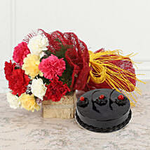 Sweetest Surrender: Flowers & Cakes for New Year