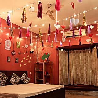 Tassles & Hearts Decoration: