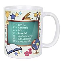 Teacher Mug: Send Gifts for Teachers Day