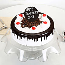 Teachers Day Black Forest Cream Cake: Cakes to Berhampur