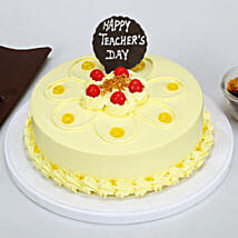 Teachers Day Butterscotch Cake: Cake delivery in Berhampur