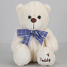 Teddy Bear With Bow- Cream: Soft Toys Gifts