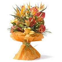 Thank You Bouquet: Send Lilies to Chennai