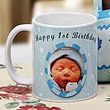 The First Milestone Personalized Mug: Birthday Gifts for Kids