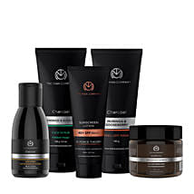 The Man Company Total De-Tan Regime: Cosmetics & Spa Hampers