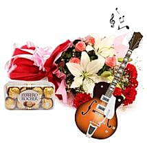 The Music of Romance: Flowers & Chocolates for Chocolate Day