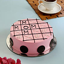 Tic Tac Toe Cake For Mom: Cake For Mother's Day