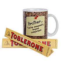 Toblerone and Mug Combo: Send Chocolates to Lucknow