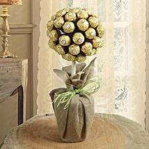 Topiary Chocolate Tree: Anniversary Chocolate Bouquets