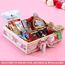 Tray Of Delicious Goodies: Doctors Day Gift Hampers