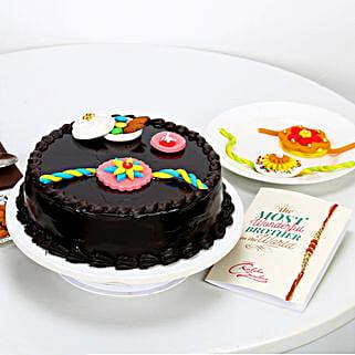 Truffle Cake & Rakhi: Cakes