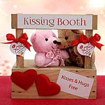 Two Kisses are Better Than One: Soft toys to Faridabad