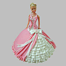 Ultra Style Queen Barbie Cake: Cakes to Kalyan