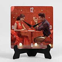 Unique Personalized Table Clock: Send Diwali Gifts to Faridabad