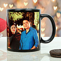 Personalized Couple Mug: Send Gifts to Damoh