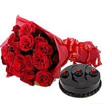 Roses N Chocolaty Love: Roses for Husband