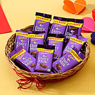 Sweet Chocolate Hamper: Bhai Dooj Gift Baskets
