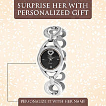 Personalised Heart Watch: Accessories for Her
