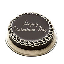 Valentine Special Chocolate Cake: Cake Delivery in Firozabad