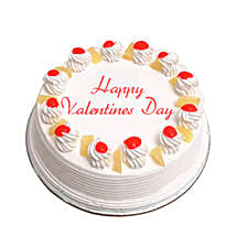 Valentine Special Pineapple Cake: Cakes to Firozabad