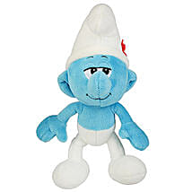 Vanity Smurf Soft Toy with Chocolate: Birthday Gifts for Kids