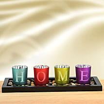 Vibrant Solid Glasses: Home Decor Gifts Ideas