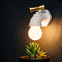 Voice Control Water Tap Night Lamp: