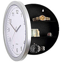 Wall Clock With Hidden Safe: Unusual Clocks