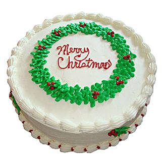 White Merry Christmas Cake: Christmas Gifts For Boyfriend