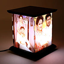 Wooden Personalized LED Lamp: Gifts for Men