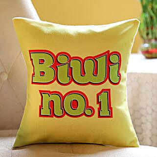 Yellow Cushion For Biwi No. 1: Buy Cushions