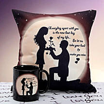 You are Mine Cushion n Mug: Gift Delivery in Neemuch