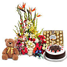 You Deserve the Best: Flowers & Chocolates Faridabad
