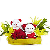 You N Me: Flowers & Teddy Bears for Anniversary