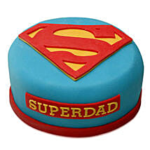 Yummy Super Dad Special Cake: Cartoon Cakes