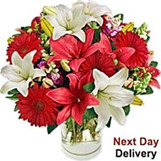 Festive Lilies mac: Corporate Hampers to Macau