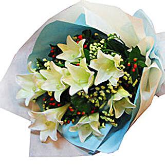 8 Madonna Lilies: Sympathy Flowers to Malaysia