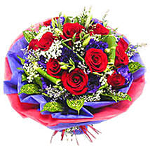 A Cheerful Bouquet: Anniversary Flowers to Malaysia
