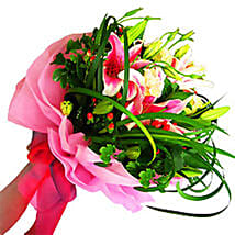 Admirable Stargazer Bouquet: Send Flower Bouquets to Malaysia