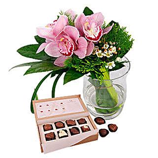 Belgian Chocolates Flowery Bonanza: Send Thank You Gifts to Malaysia