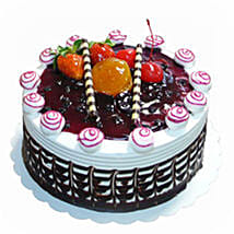 Blueberry Topped Cake: Send Birthday Cakes to Malaysia