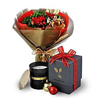 Cabonara Christmas Scented Candles: Send Christmas Gifts to Malaysia