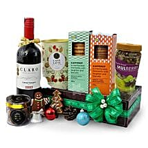 Christmas Food Hamper With Wine: Send Birthday Gifts to Malaysia