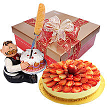 Delicious Strawberry Cheesecake: Send Birthday Gifts to Malaysia